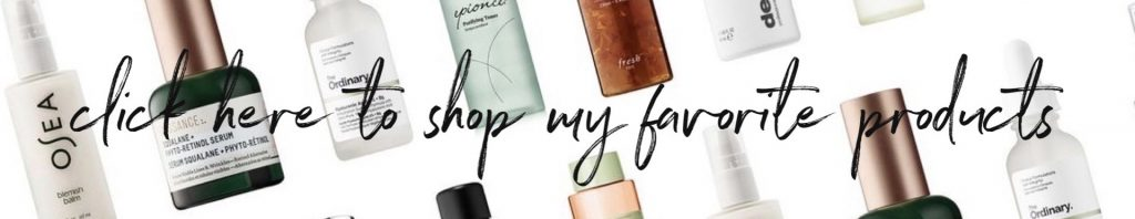 shop my fave products