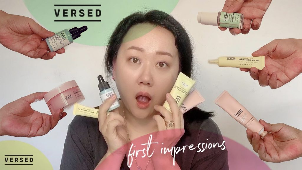 My First Impressions on VERSED Skincare Review is out!